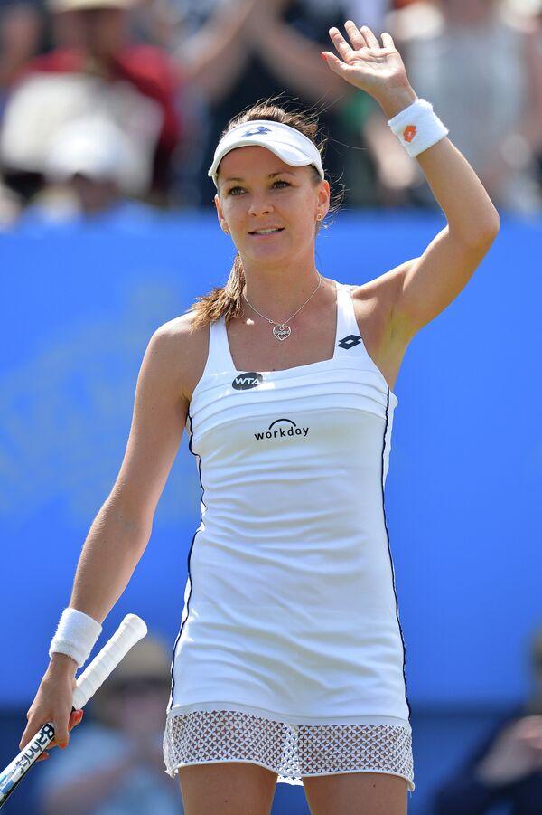 Польская теннисистка Агнешка Радваньская