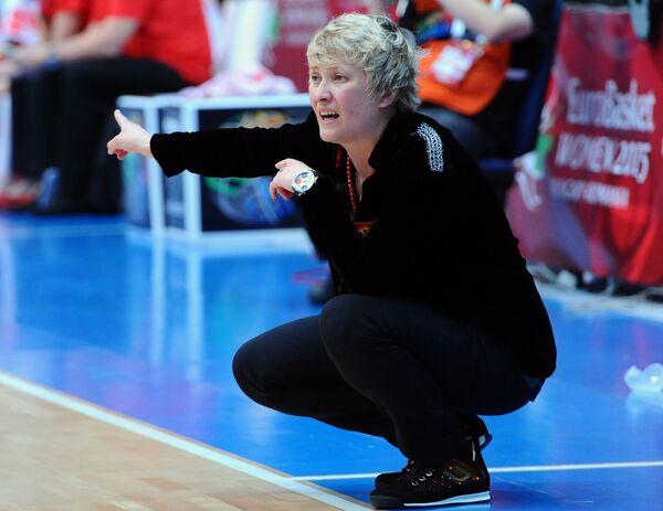 Главный тренер женской сборной Сербии по баскетболу Марина Малькович