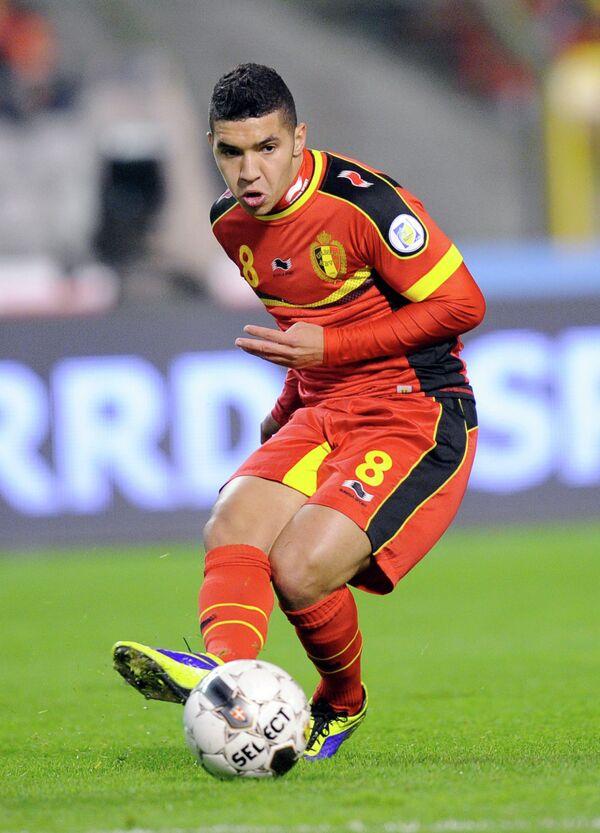 Нападающий сборной Бельгии по футболу Закария Баккали