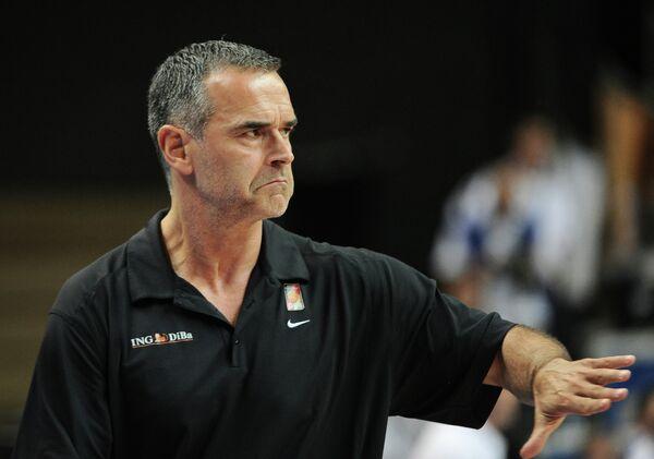 Немецкий баскетбольный тренер Дирк Бауэрманн