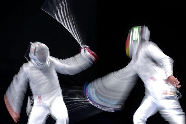 Слева направо: Алексей Якименко (Россия) и Макс Хартунг (Германия)