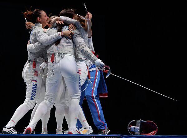 Саблистки сборной России
