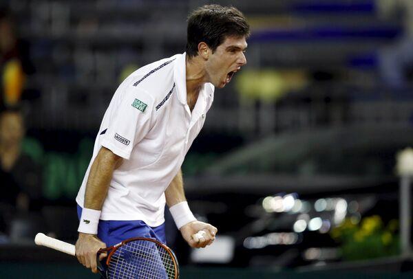 Аргентинский теннисист Федерико Дельбонис