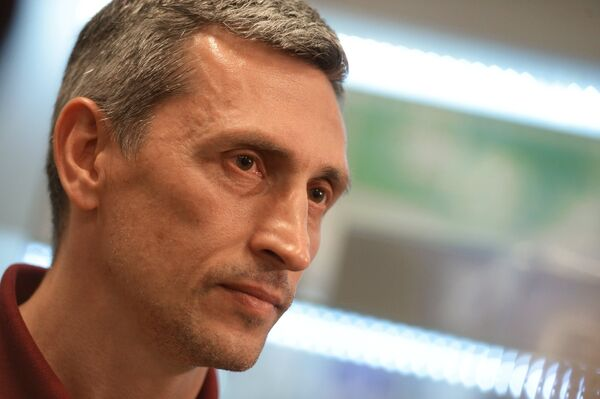 Главный тренер юношеской сборной России по футболу Дмитрий Хомуха