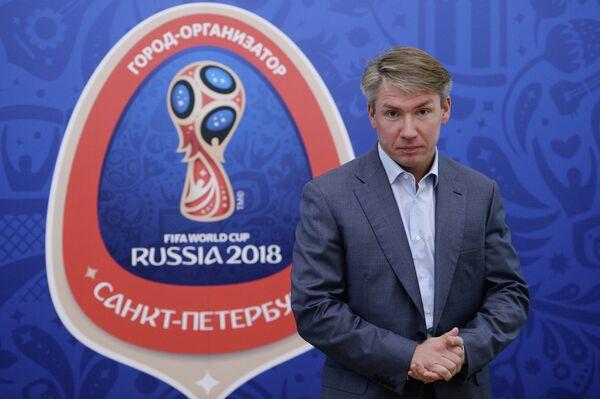 Генеральный директор Оргкомитета Россия - 2018 А.Сорокин