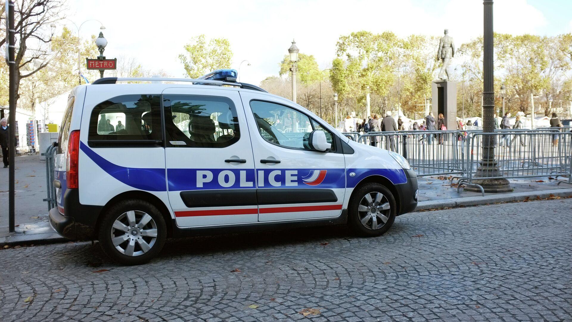 Полиция Франции - РИА Новости, 1920, 14.12.2020