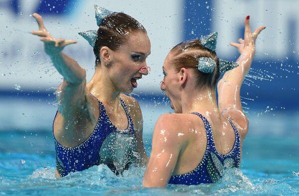 Наталья Ищенко и Светлана Ромашина (Россия)