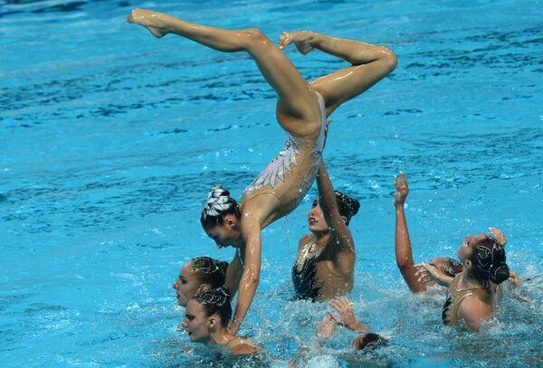 Спортсменки сборной Греции