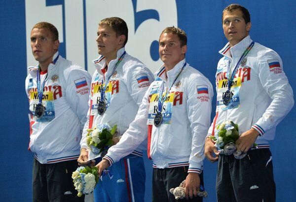 Пловцы сборной России