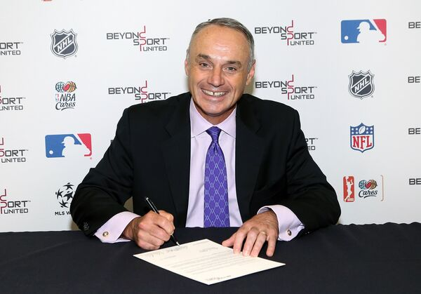 Комиссар MLB Роб Манфред
