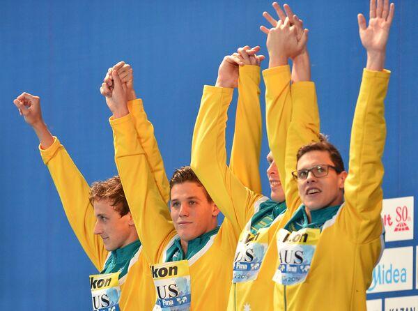 Спортсмены сборной Австралии
