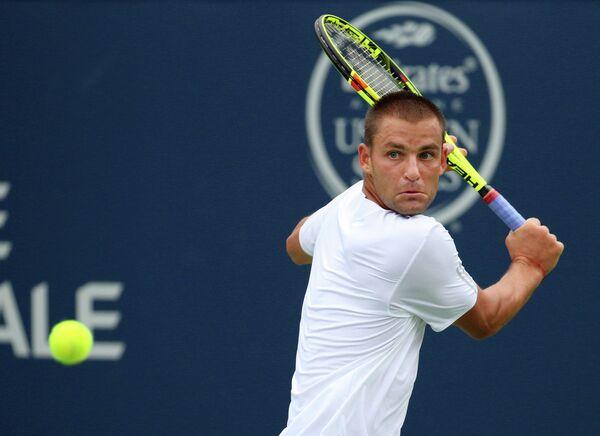 Михаил Южный на теннисном турнире в Монреале