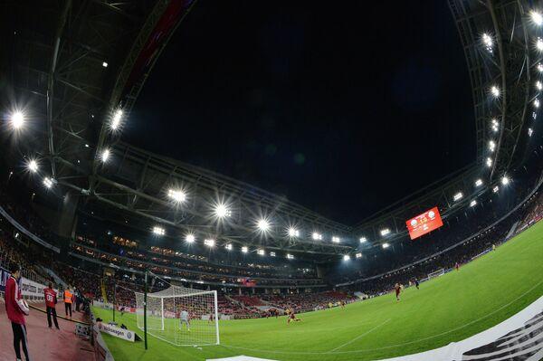 Стадион Открытие Арена во время матча Россия - Швеция