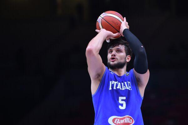Баскетболист сборной Италии Алессандро Джентиле