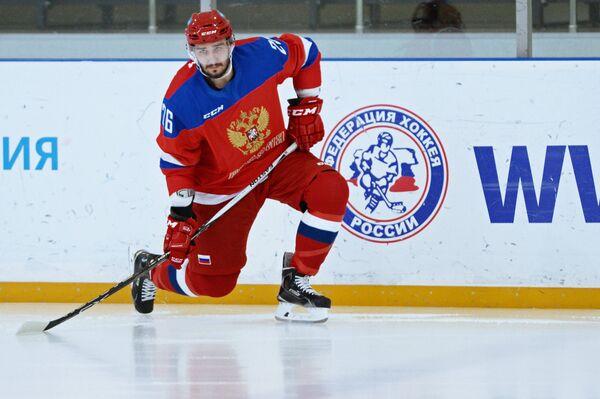 Хоккеист Вячеслав Войнов