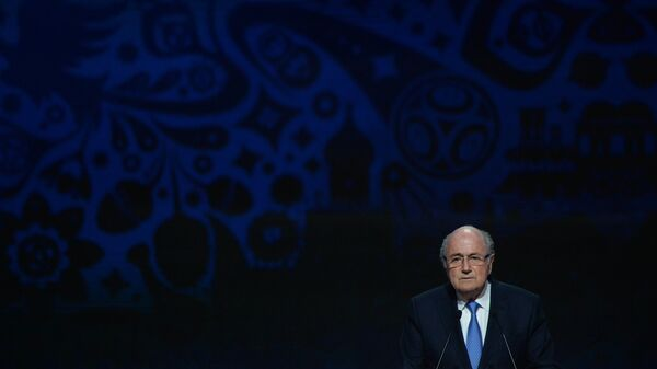 Глава Международной федерации футбола (ФИФА) Йозеф Блаттер