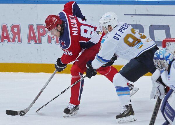 Игорь Макаров и Мартин Сен-Пьер (слева направо)