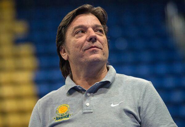 Второй тренер баскетбольного клуба Химки Андрия Гаврилович