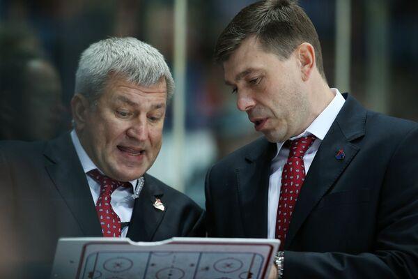 Олег Браташ (слева)