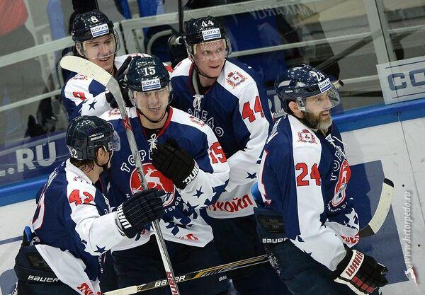 Хоккеисты нижегородского Торпедо