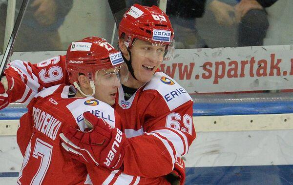 Вячеслав Лещенко (слева) и Лукаш Радил