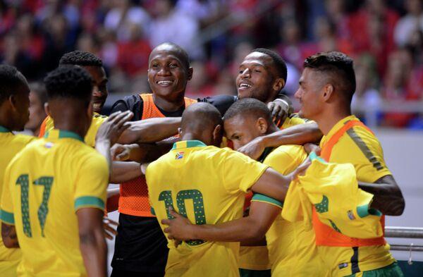 Футболисты сборной ЮАР