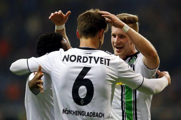 Футболисты мёнхенгладбахской Боруссии