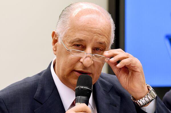 Президент Бразильской конфедерации футбола (CBF) Марко Поло дель Неро