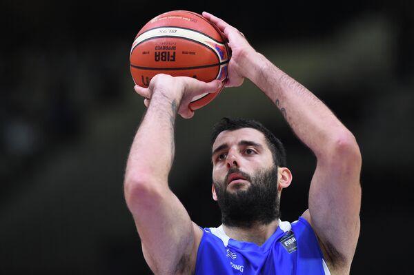 Греческий центровой испанского баскетбольного клуба Баскония Яннис Бурусис