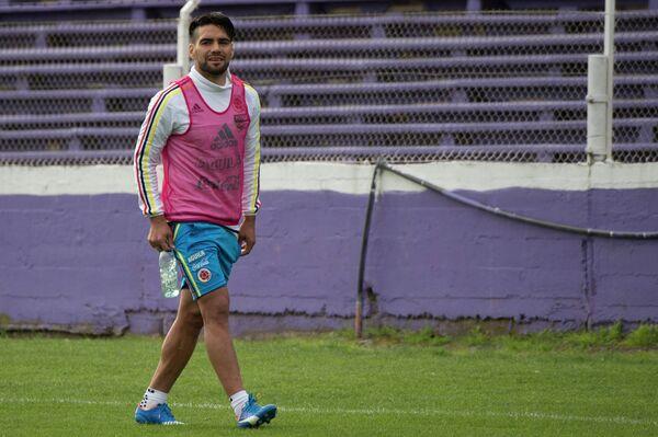 Колумбийский футболист Радамель Фалькао