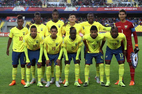 Сборная Эквадора (игроки не старше 17 лет)