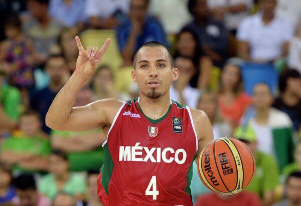 Разыгрывающий сборной Мексики Пол Столл
