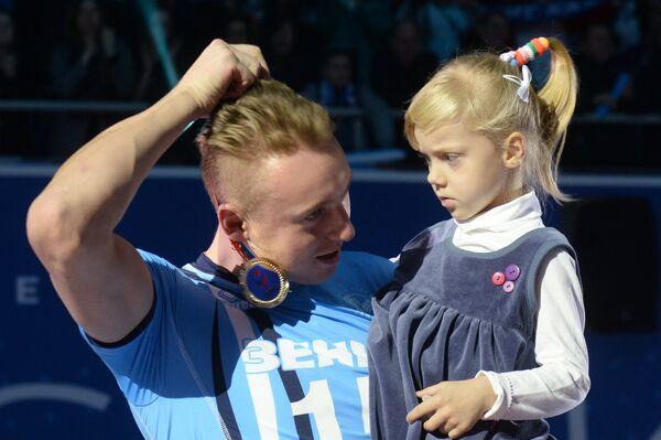 Алексей Спиридонов с дочерью Софией