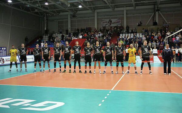 Волейболисты Югра-Самотлор