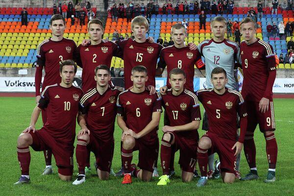 Футболисты юношеской сборной России (до 19 лет)