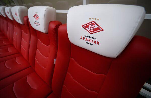Тренерские кресла на стадионе Открытие Арена