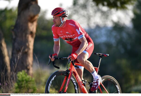 Велогонщик команды Катюша Марко Халлер
