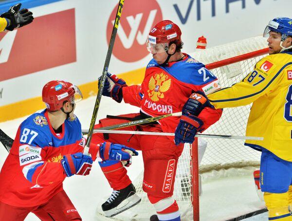 Вадим Шипачёв и Игорь Григоренко (слева направо)