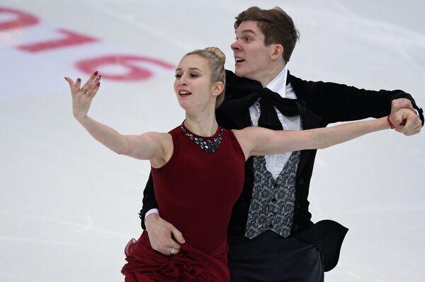 Анна Яновская и Сергей Мозгов