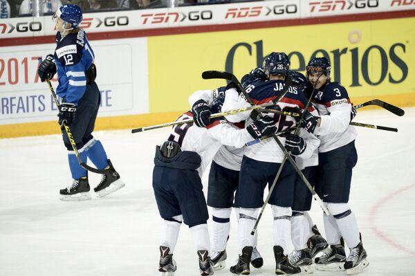 Хоккеисты молодежной сборной Словакии