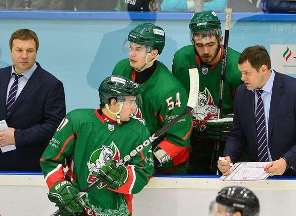 Хоккеисты казанского Барса