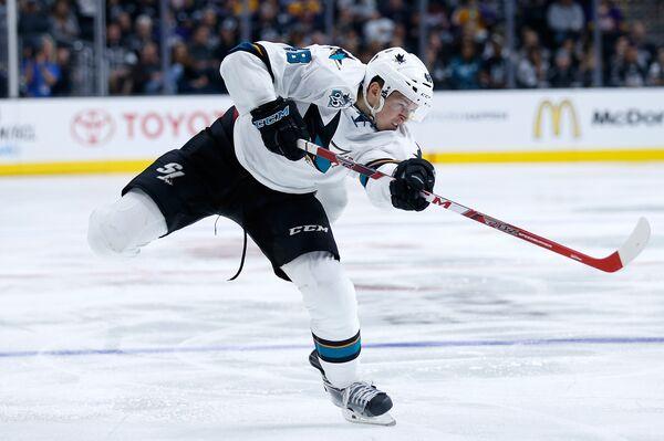 Чешский форвард клуба НХЛ Сан-Хосе Шаркс Томаш Гертл