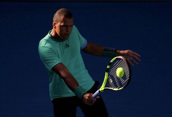 Французский теннисист Жо-Вильфрид Цонга