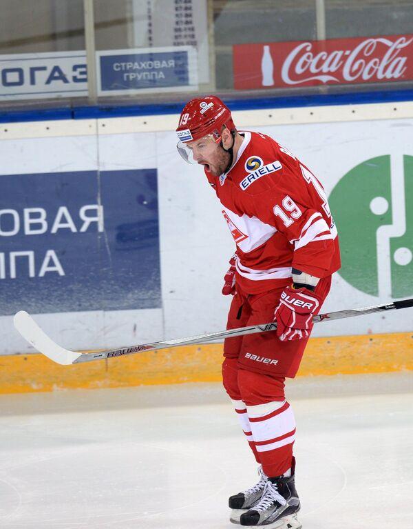 Нападающий Спартака Игорь Радулов