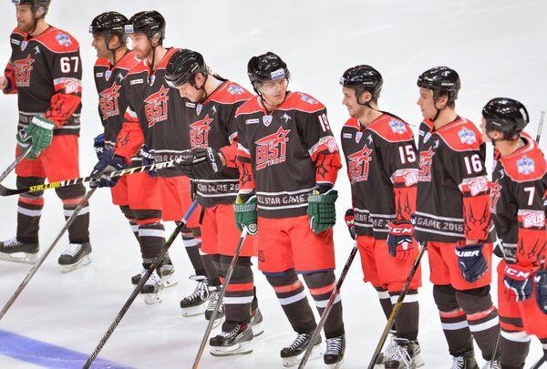 Хоккеисты сборной Востока