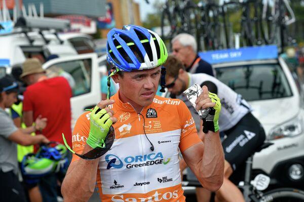 Австралийский велогонщик Саймон Герранс из команды Orica-GreenEdge