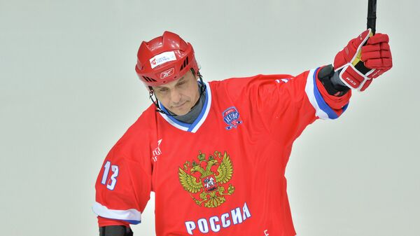 Форвард сборной России по хоккею Валерий Каменский