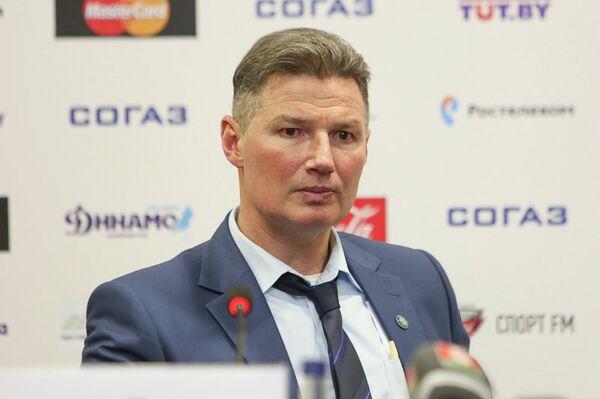 Главный тренер минского Динамо Андрей Ковалев