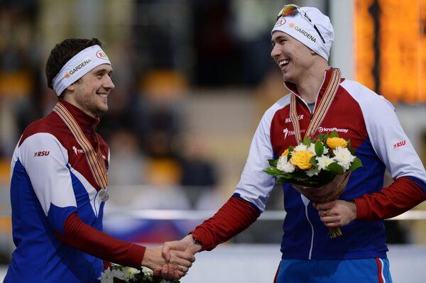 Павел Кулижников и Денис Юсков (справа налево)
