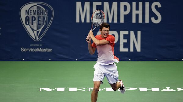 Американский теннисист Тейлор Фриц